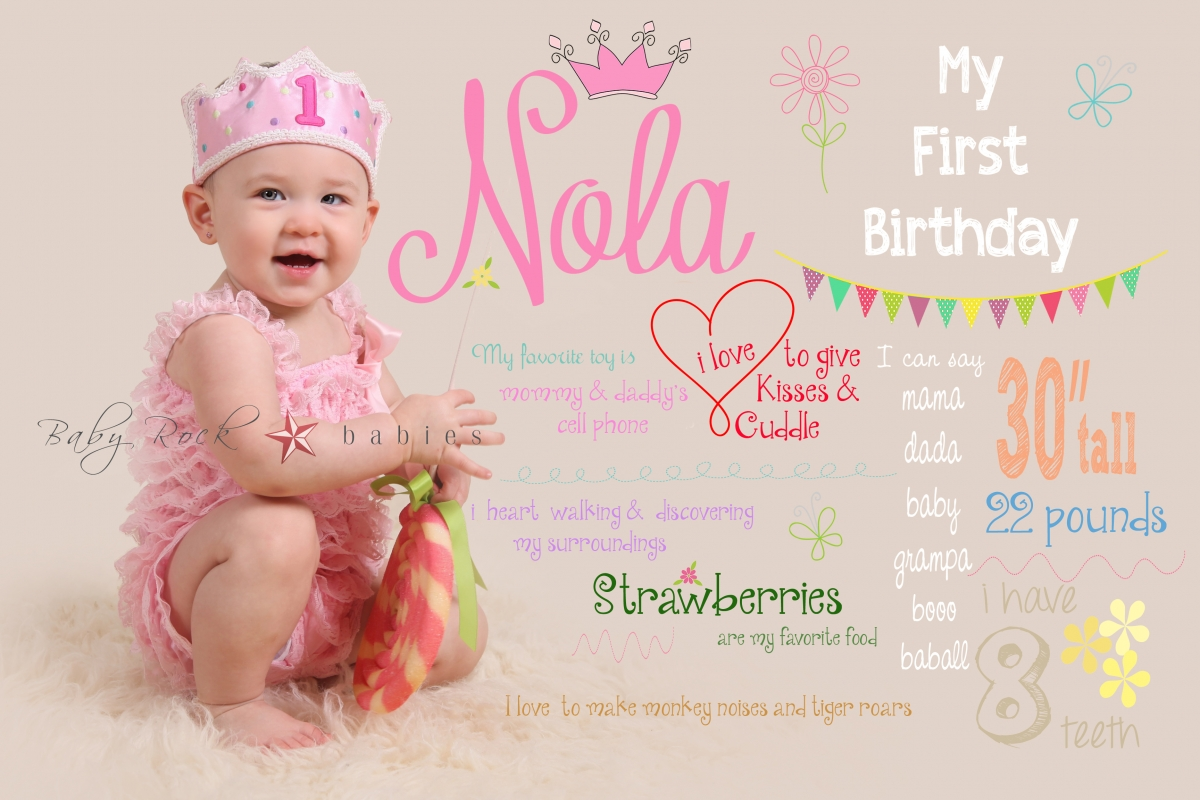 Miss N Turns One 187 Baby Rock Photography
